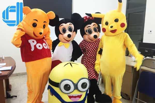 Top dịch vụ cho thuê mascot uy tín tại Đà Nẵng