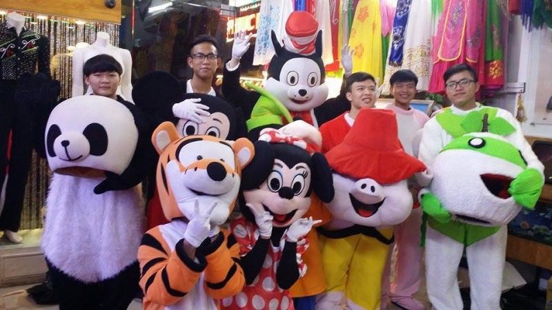 Top dịch vụ cho thuê Mascot trang phục uy tín tại HCM