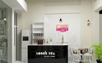 thi công nội thất quán trà sữa