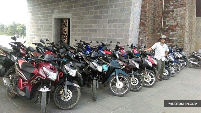Thuê xe máy ở Ninh Bình