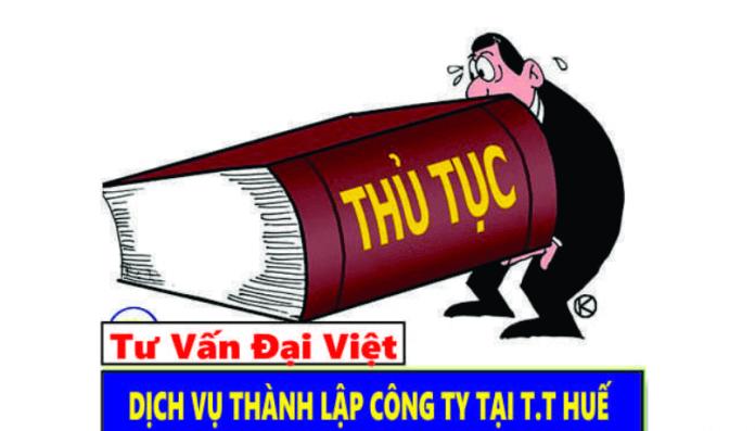 Cong ty TNHH tu van Dai Viet - dich vu thanh lap cong ty o Hue