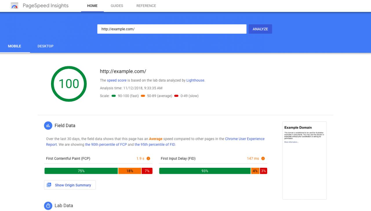 """Kết quả hình ảnh cho Google PageSpeed Insights"""""""
